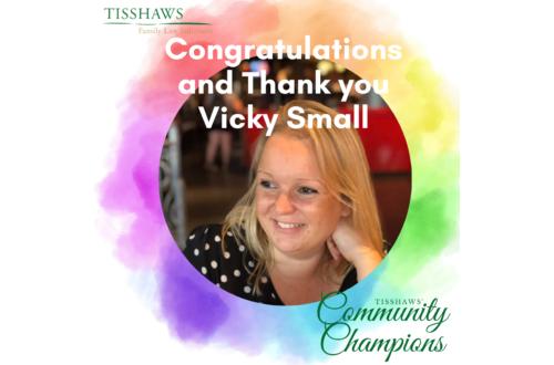 Vicky Small Community Champion