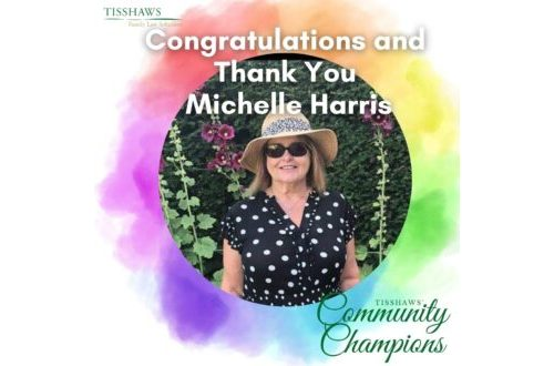 Community Champion Michelle Harris