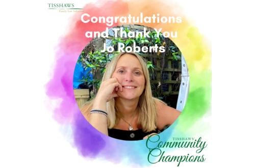 Jo Roberts Community Champion